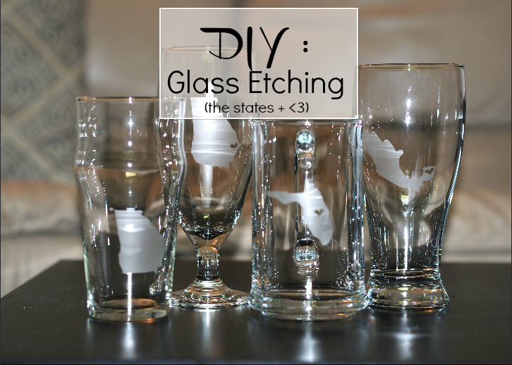 DIY Glass Etching
