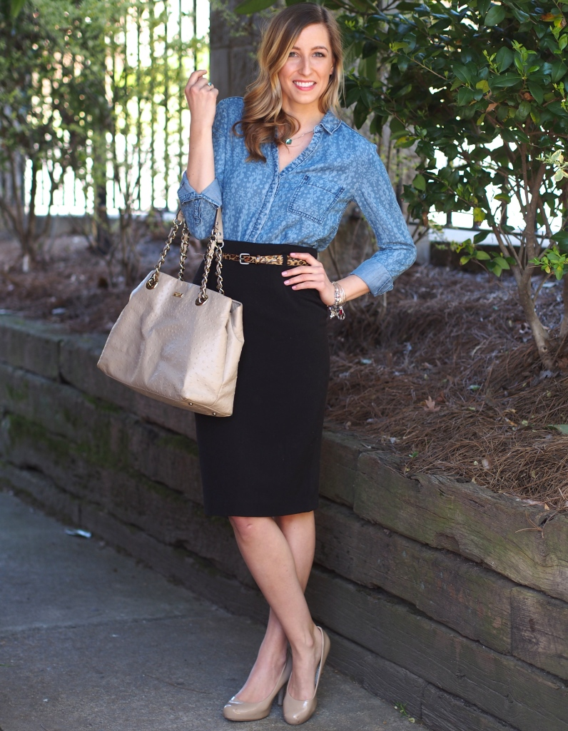9 to 5 chambray