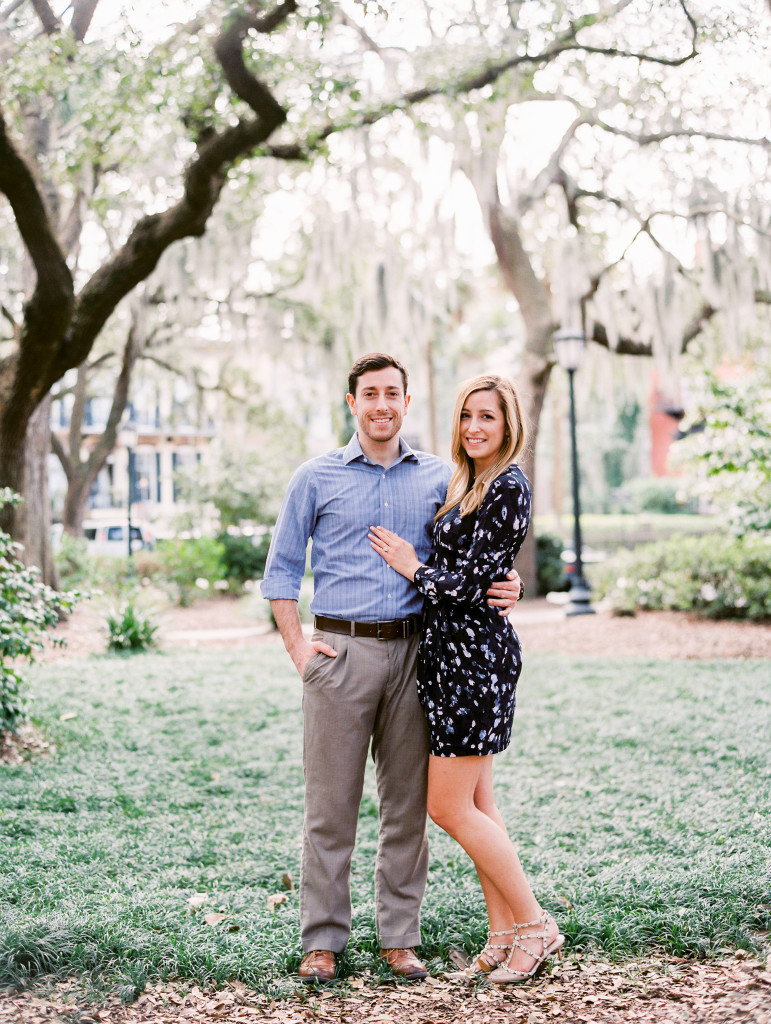 Savannah Engagement Photos